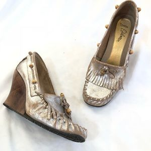 Sam Edelman Moccasin Wedge Loafers